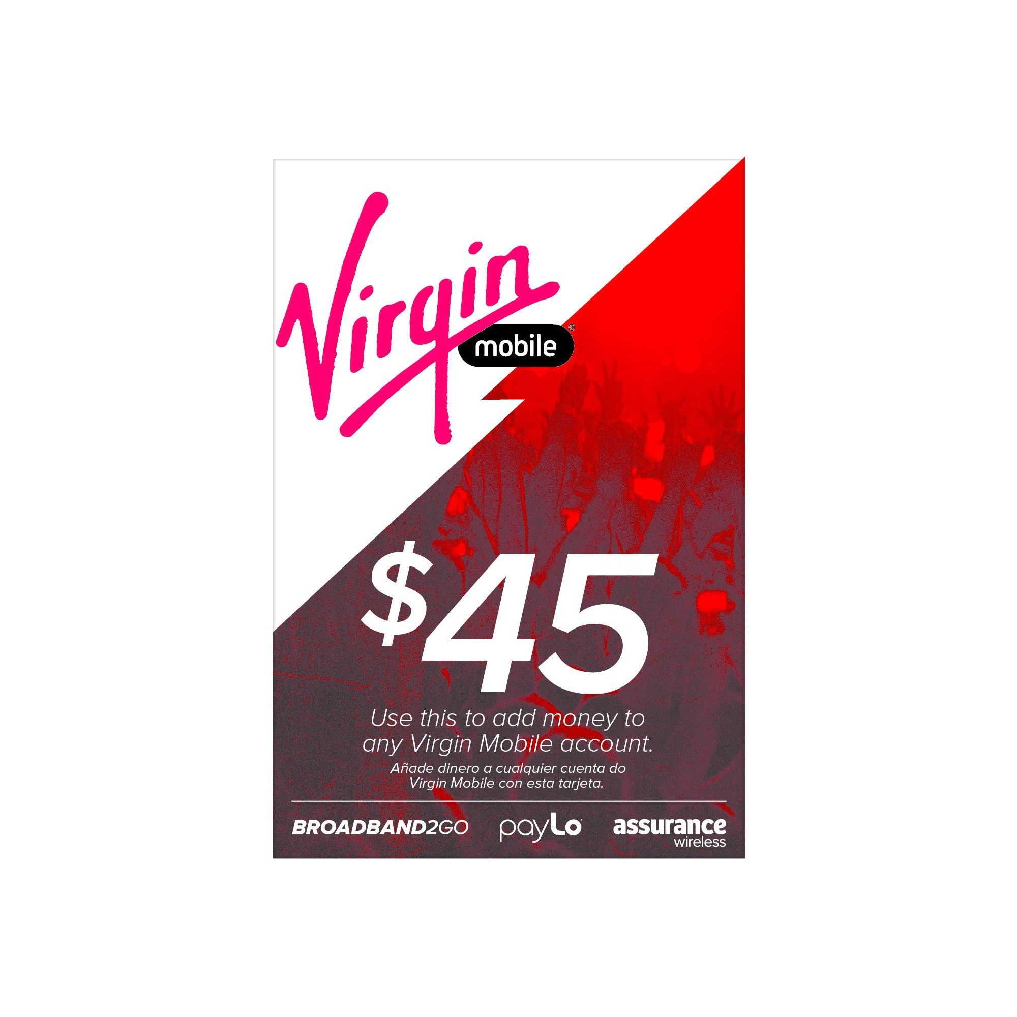 Virgin Mobile 45 Prepaid Card Email Delivery Log Home Plans