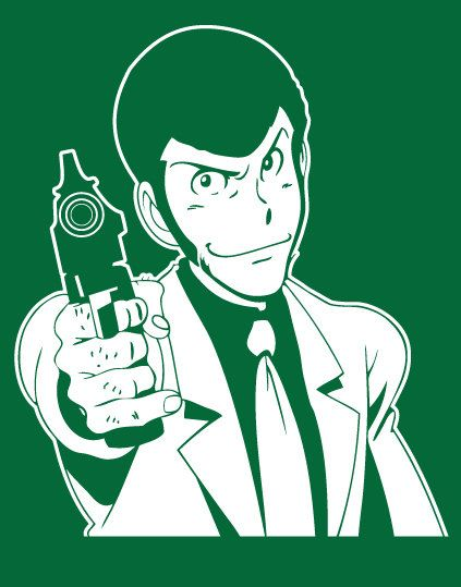 LUPIN THE THIRD Vinyl Decal - Anime Manga by Buttonaked on Etsy