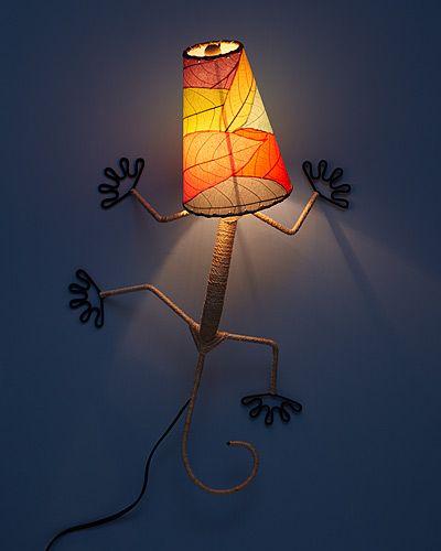 Gecko Wall Sconce Apliques De Pared Veladores Lamparas