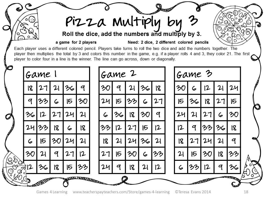 42 Free Fun Multiplication Worksheets In