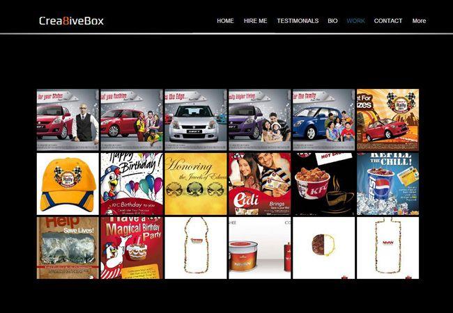 Amazing Online Portfolios Created With Wix