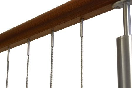 Vertical Deck Cable Railing System La Railing Deck