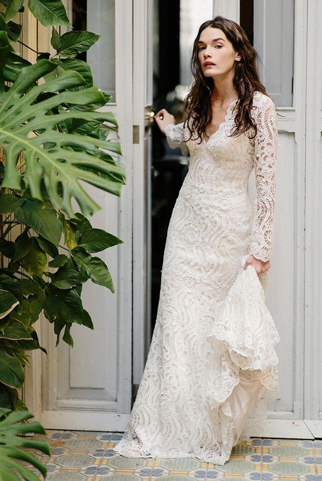 Lace Bohemian Wedding Dress Madison James   Http://