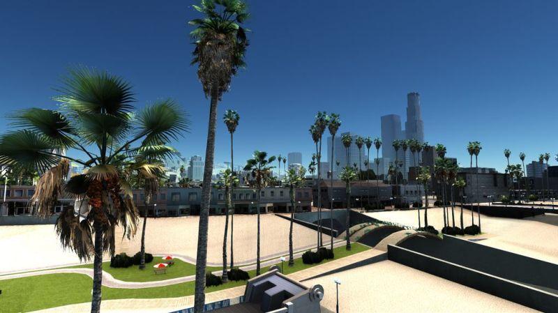 Gta San Andreas Gets New Graphics Mod San Andreas San Gta