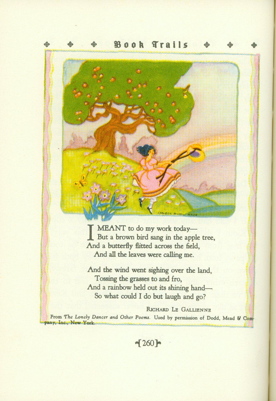 the lonely land poem