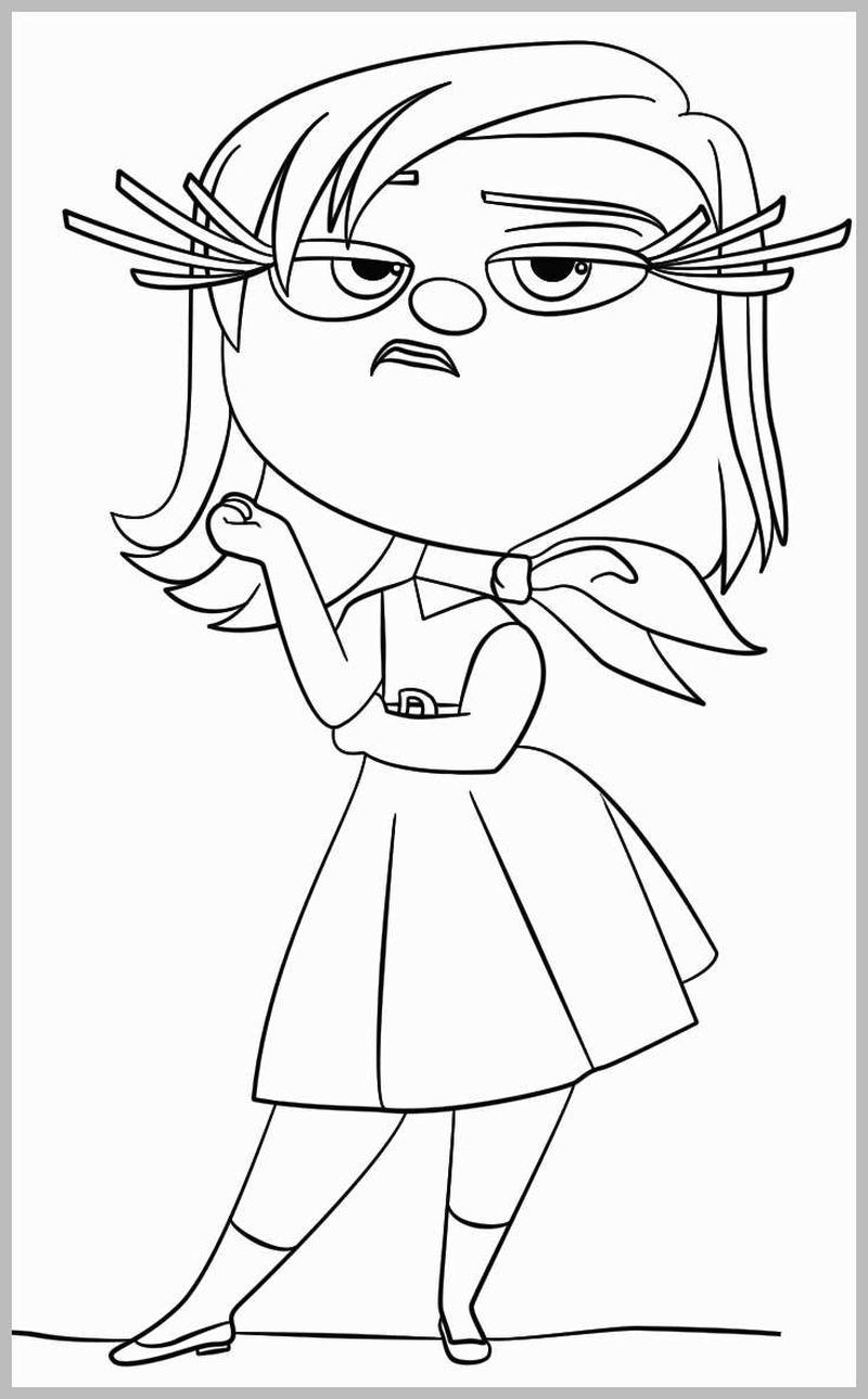 Coloring Inside Out In 2020 Inside Out Coloring Pages Coloring Pages Cartoon Coloring Pages