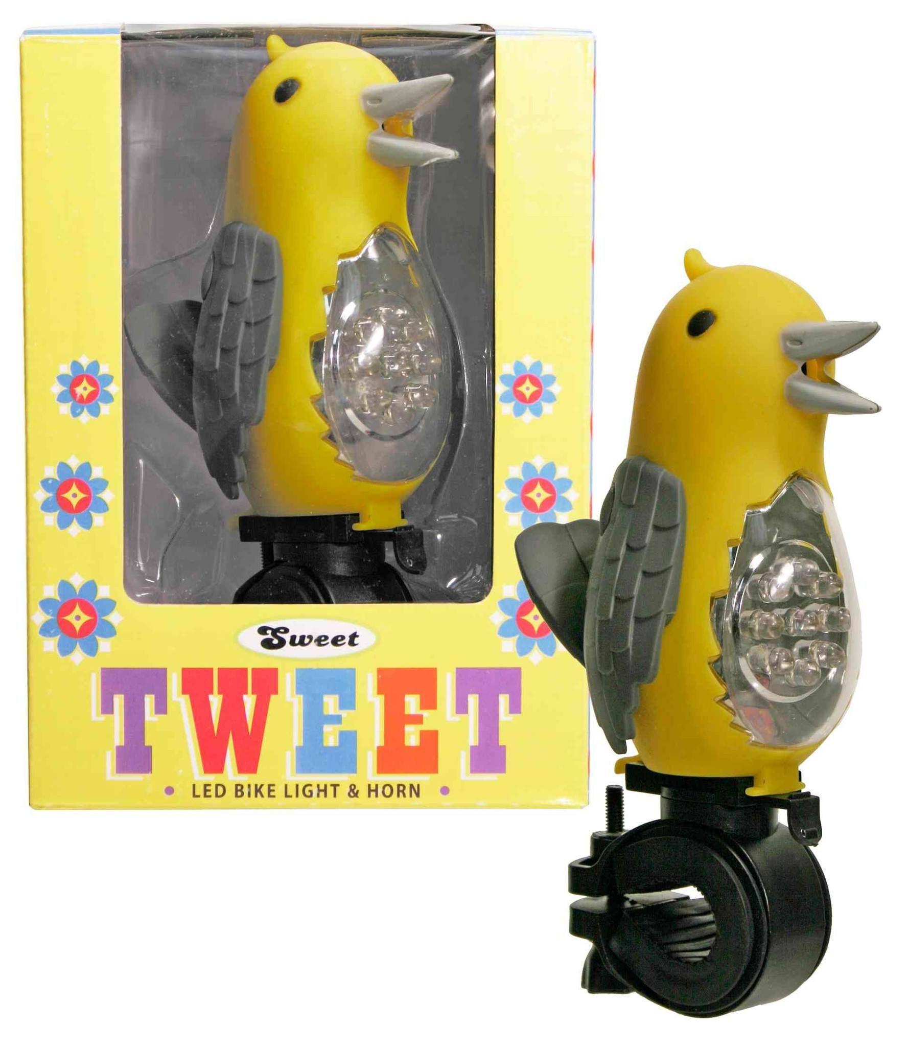 Sweet Tweet Bicycle Light - Yellow
