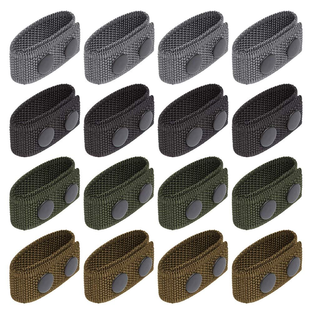 Corrines Duty Belt Keeper with Double Snaps,16 Pack