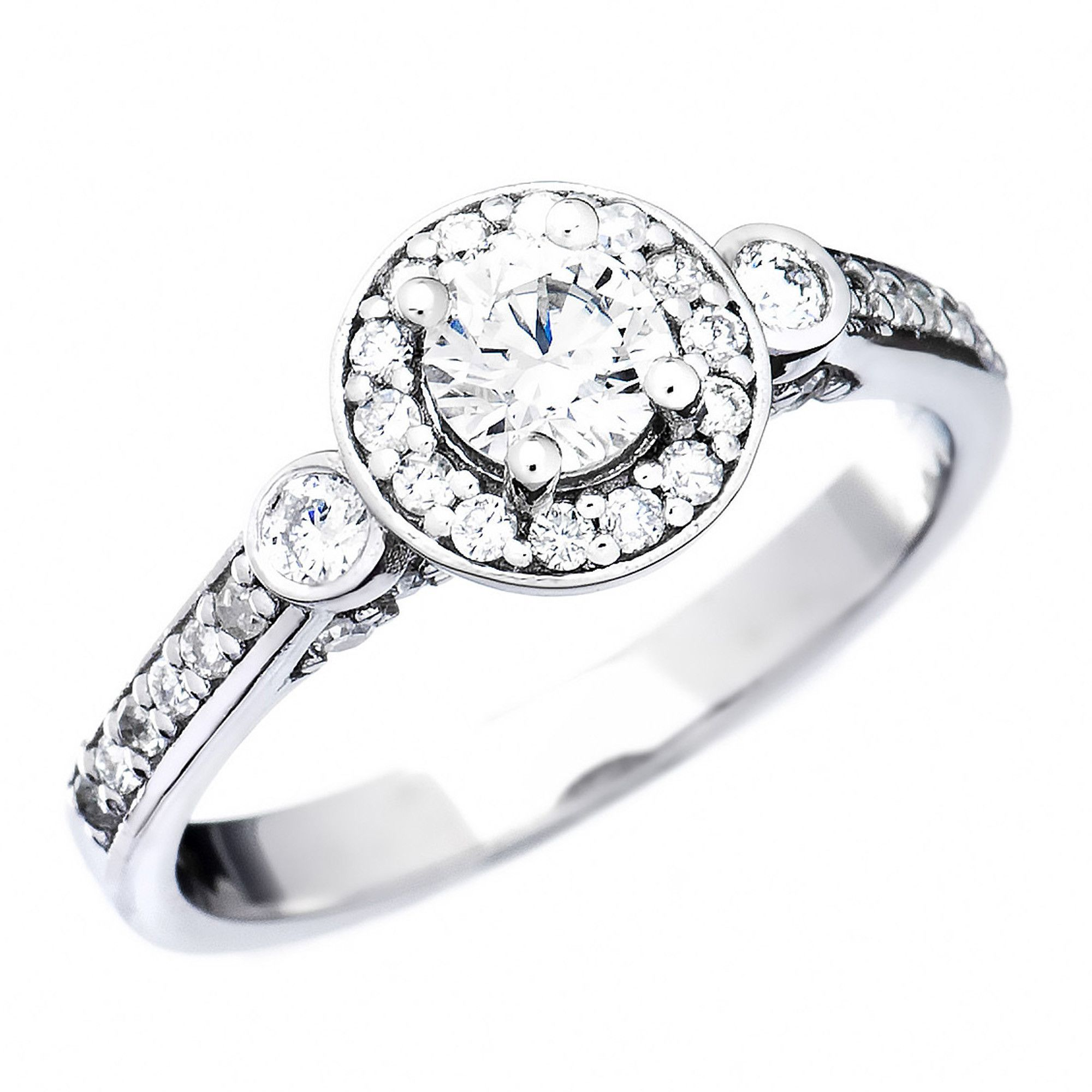 wedding white ring diamond hers his stores top online rose sets rings vintage bridal gold and bands