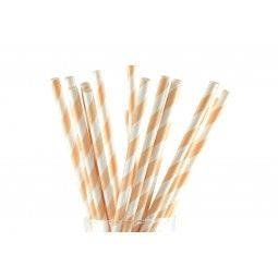 Whoot! Finally a company selling a nice assortment of paper straws over here. Yes, I'll have my orange bitter with one of these please.
