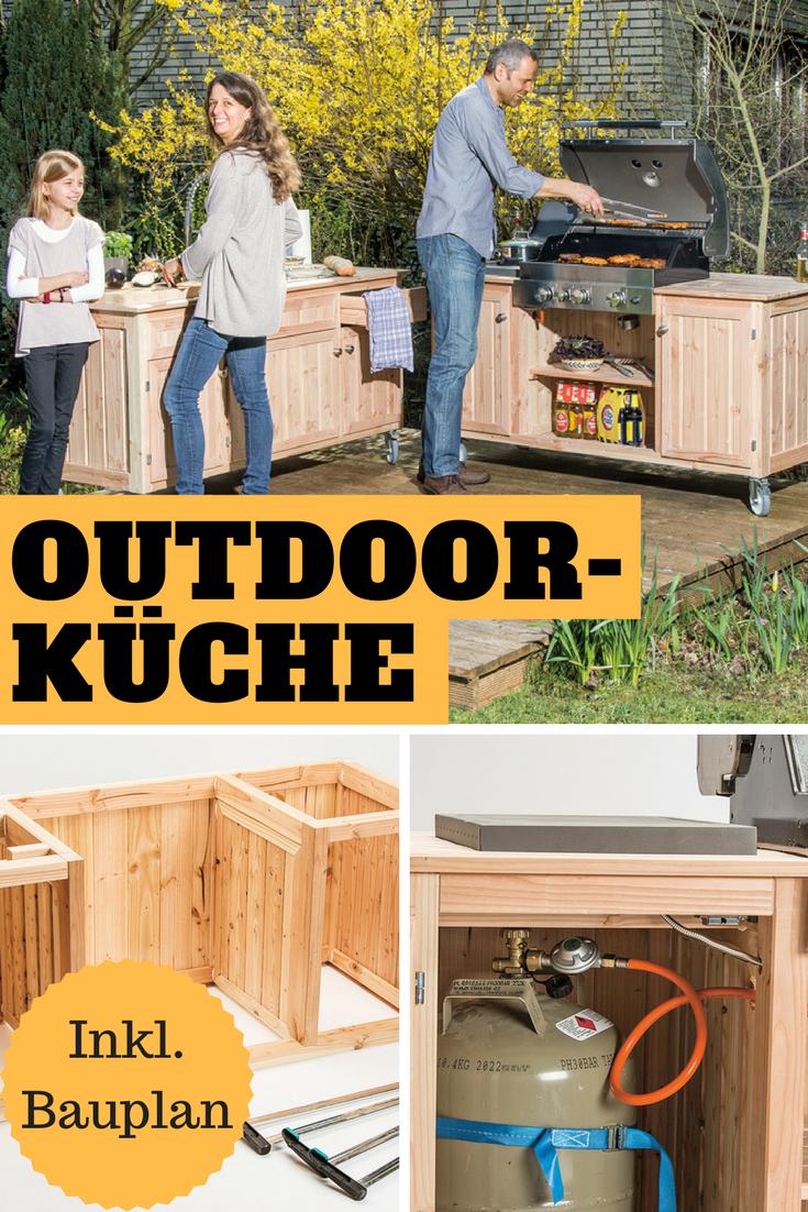 Bauplan Outdoorküche | Gardens, Garten and Backyard