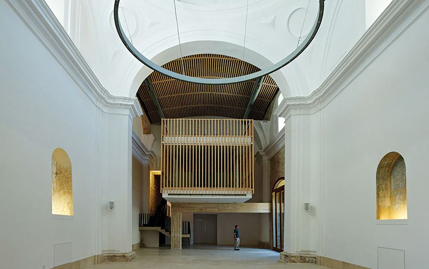Adam Bresnick architects - Restoration+Adaptation of 16th-century Chapel in Guadalajara, Spain