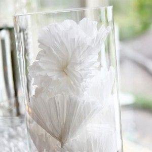 Easy DIY Ideas- Paper Flower Centrepieces