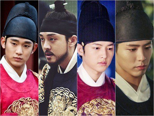 The Fantastic 4 Princes in the King's gown @ HanCinema :: The Korean Movie and Drama Database