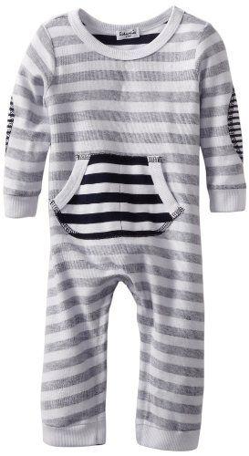 d6e46613b019 Splendid Littles Baby-Boys Newborn Navy Stripe Active Romper ...