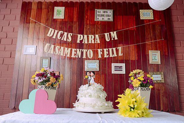 Muitas dicas para um casamento feliz na mesa do bolo! Casamentos Reais | Sabrina + Emerson