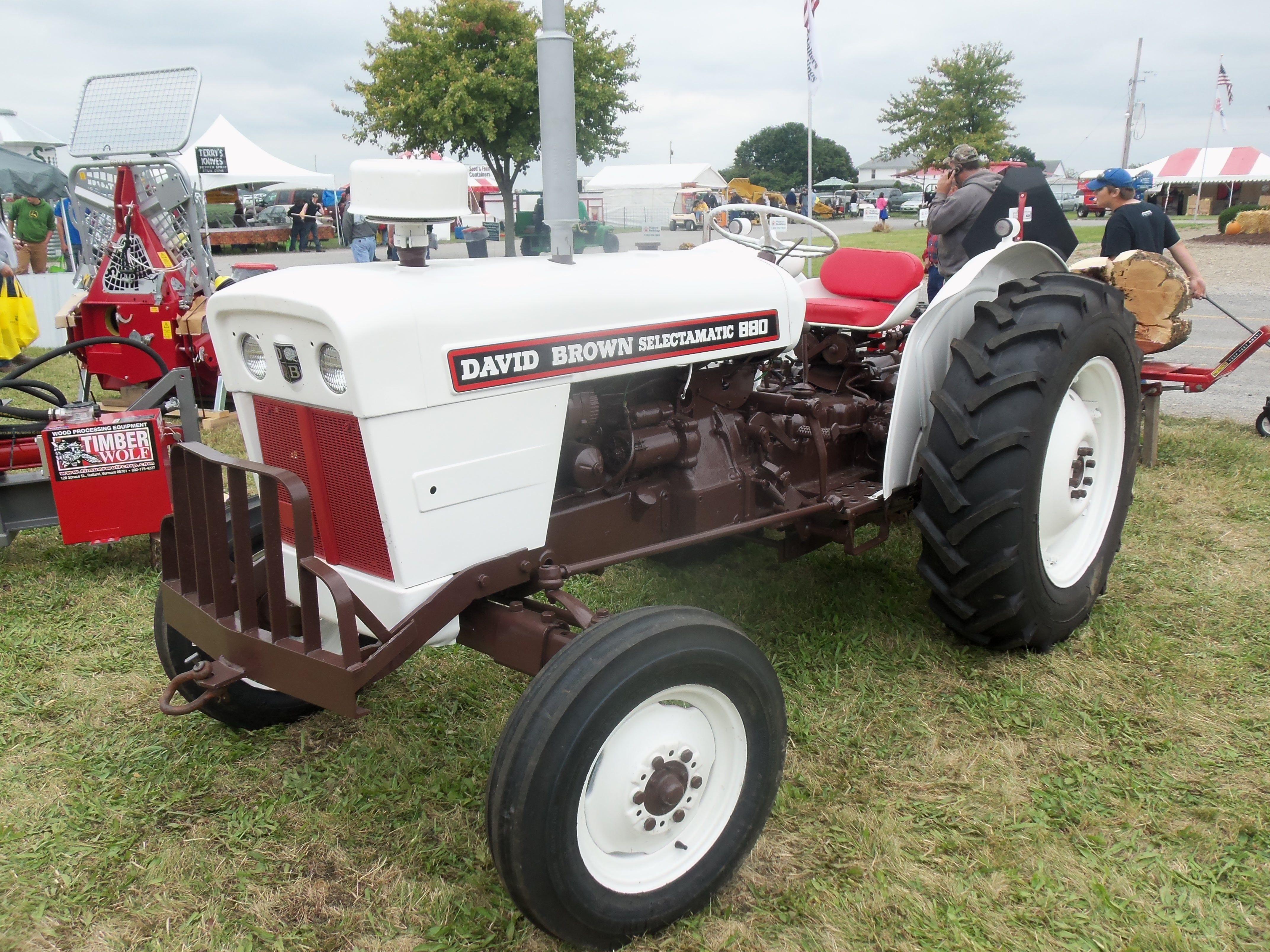 880 Ford Tractors : David brown utility tractor tractors pinterest