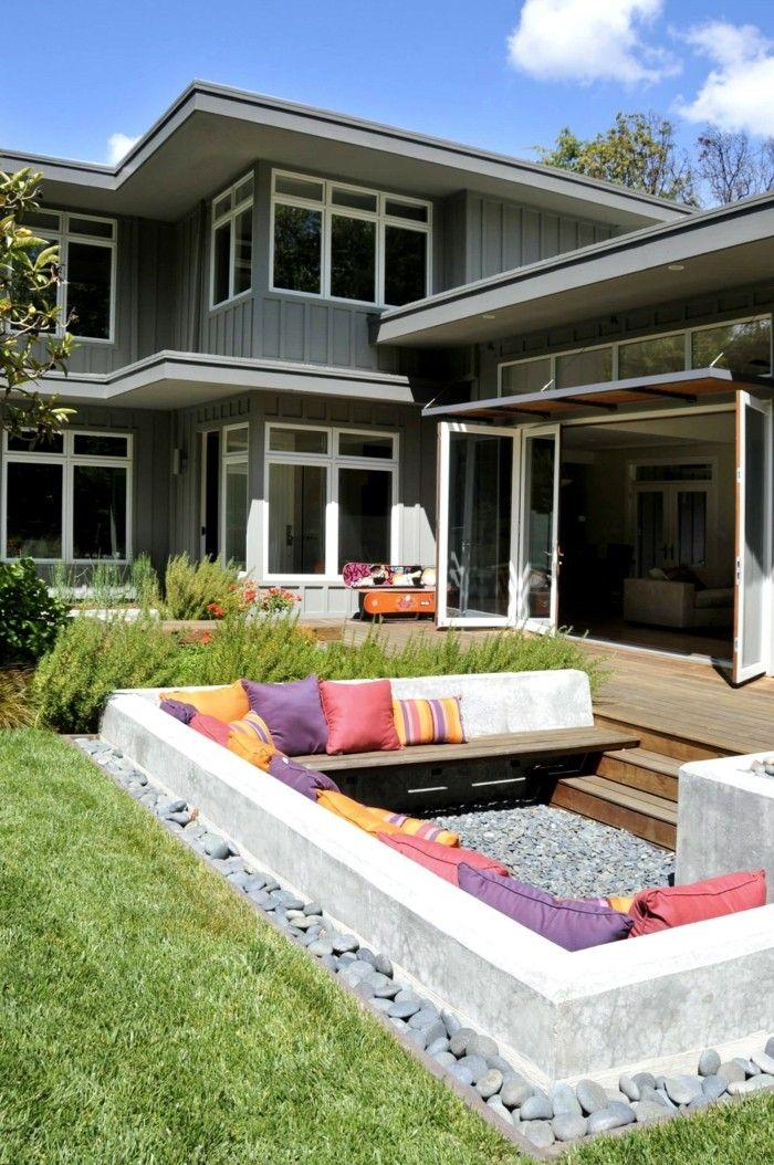 Lieblings Garten Sitzecke - 99 Ideen, wie Sie ein Outdoor Wohnzimmer #ZX_98