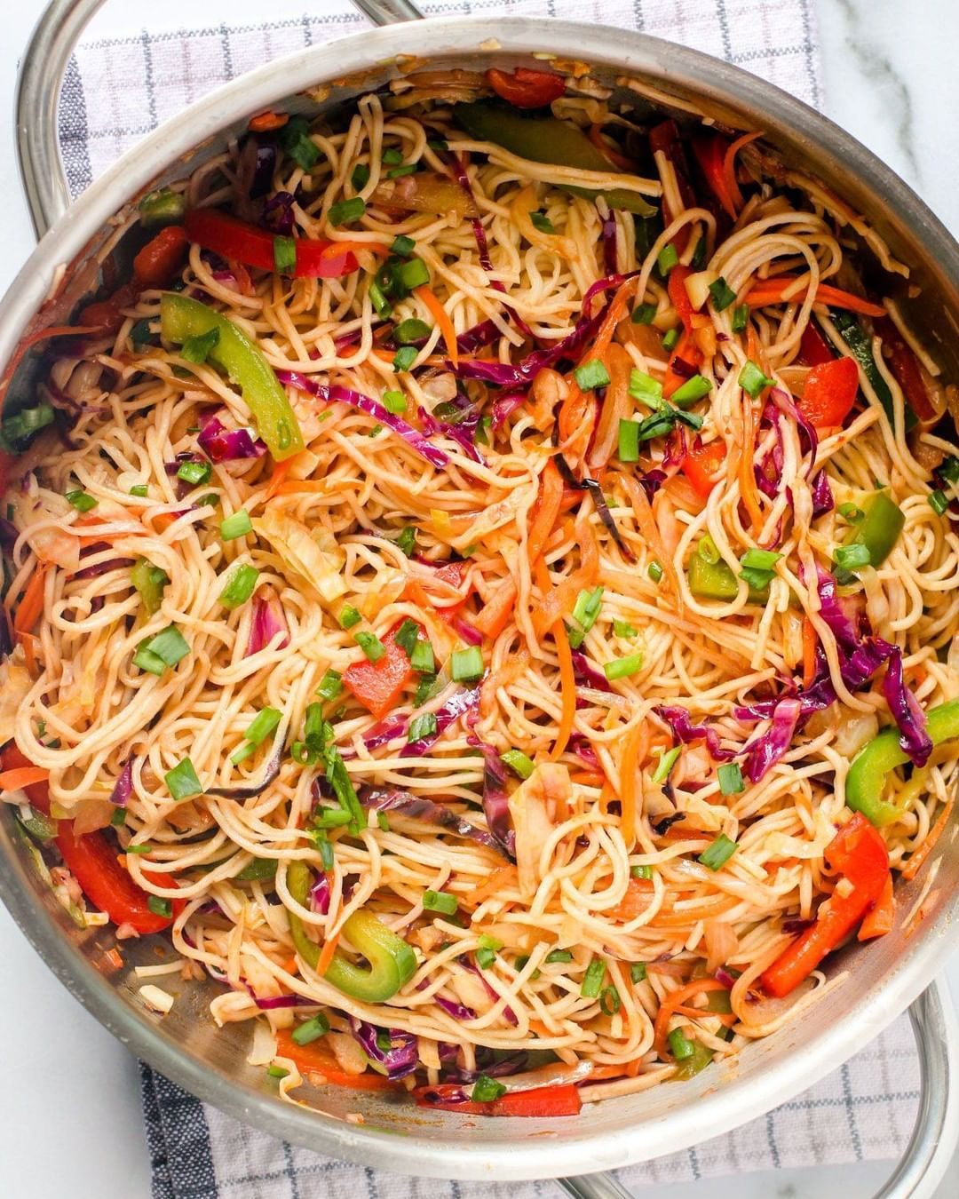 Ministryofcurry Posted To Instagram A Giant Wok Of Happiness Do You Love Hakka Noodles We Do And I In 2020 Vegetarian Chinese Recipes Indian Food Recipes Recipes