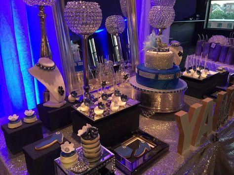 Diamonds and Denim Birthday Party Ideas Diamond Birthdays and