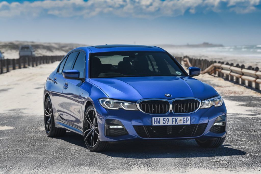 Photo Gallery Bmw G20 330i M Sport Package In Portimao Blue Bmw Premium Cars Sports Package