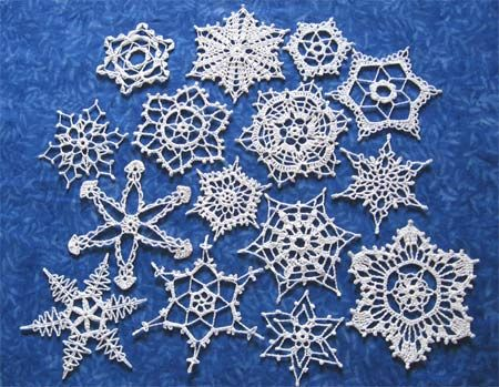 Crochet These During The Year Starch Them So They Lay Flat And Tie