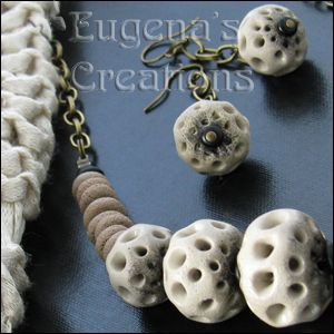 Polymer Tutorials: Polymer Clay Beads: Possibilities of Openwork Technique