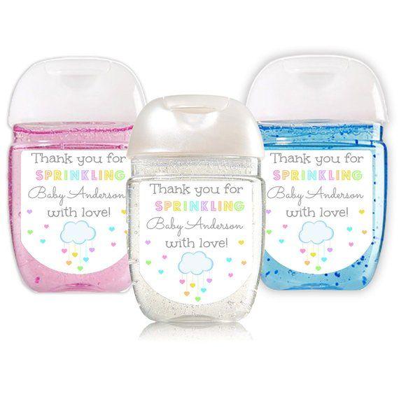 Sprinkled With Love Baby Shower Favor Baby Sprinkle Favor Hand