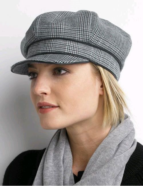 The Newsboy Cap Best And Stylish Hats For Round Faces ...