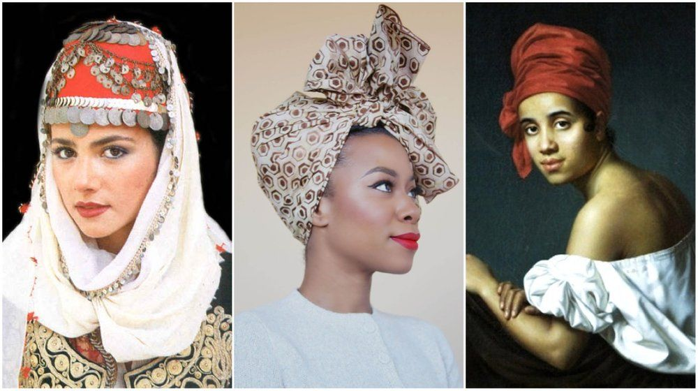 Can You Wear Headwraps? (Spoiler: Yes, You Can)  Learn about the history of head wrap and head coverings as worn throughout world history.