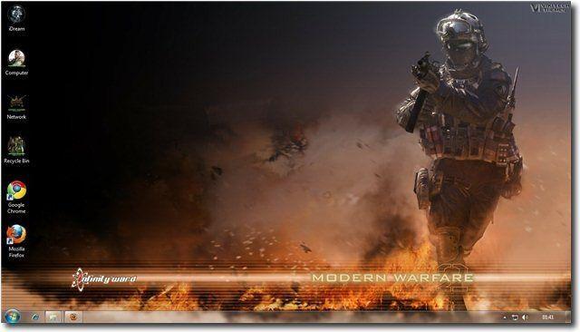 Call Of Duty Modern Warfare 2 Theme For Windows 7 and