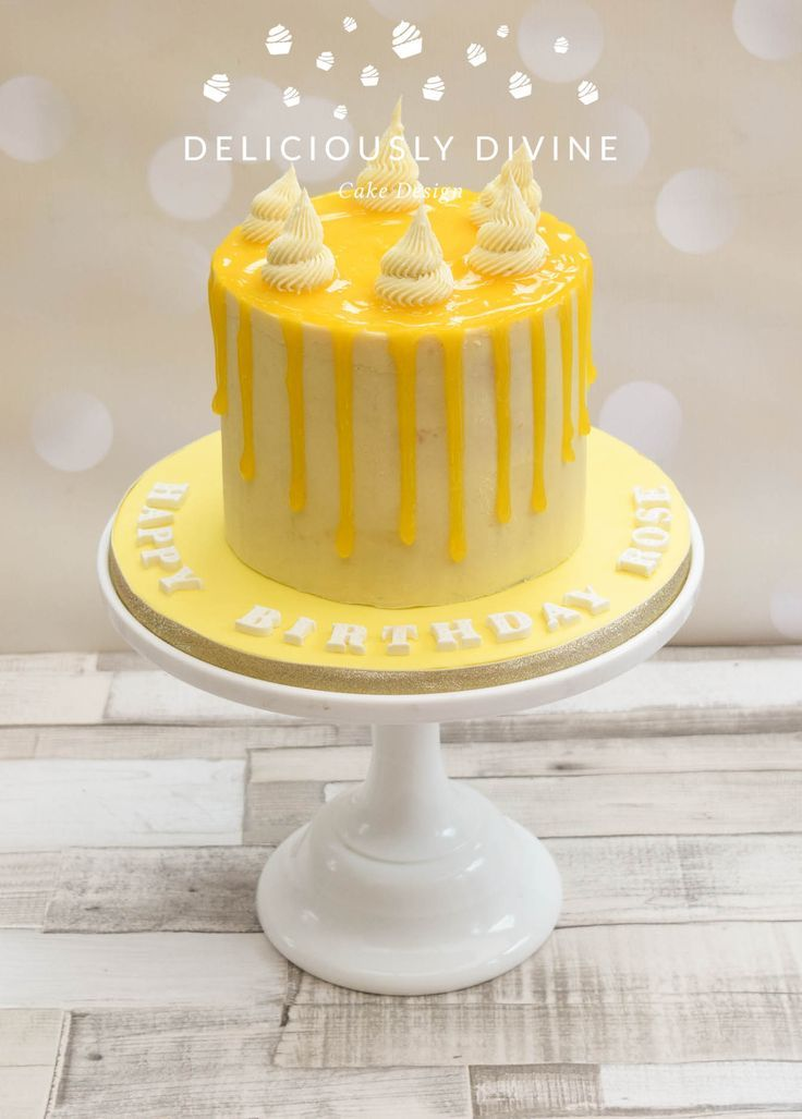 Image Result For 18th Birthday Cakes Lemon With Images Lemon