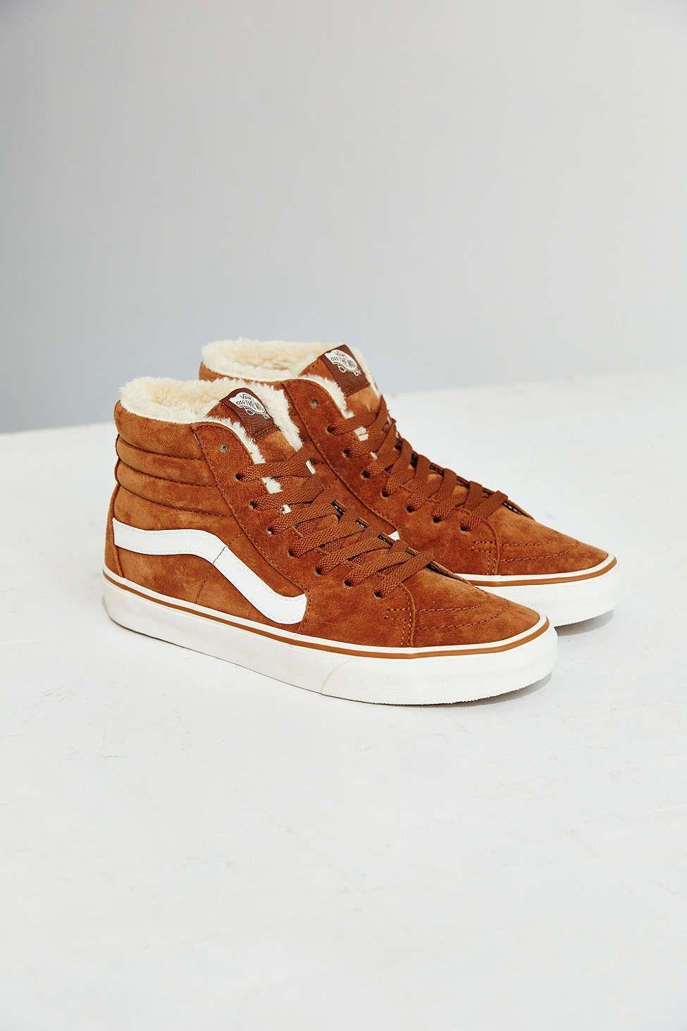 Vans Sk8 Hi Fleece Sneaker | Urban outfitters shoes