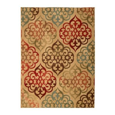 Jackson medallion area rug 5x7 dining room rugs colors for Dining room rugs 5x7