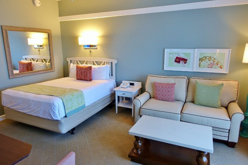 Photo Tour Of A Studio At Disney S Boardwalk Villas