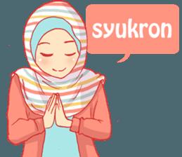 Best Funny Emoji  keseharian dua hijabers bersaudara 9