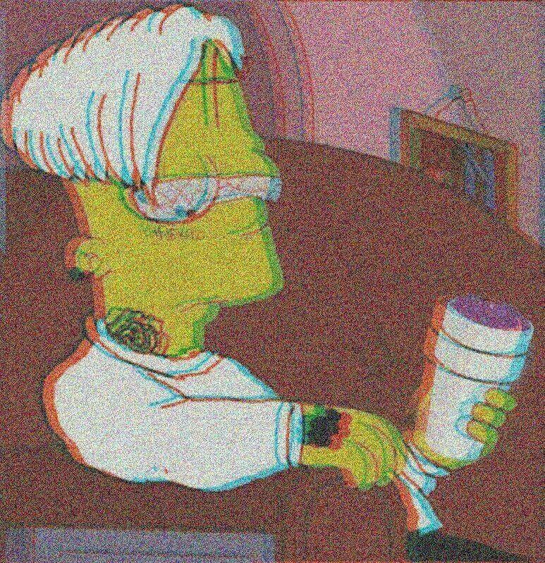 Dibujos Sad De Bart Simpson A Lapiz