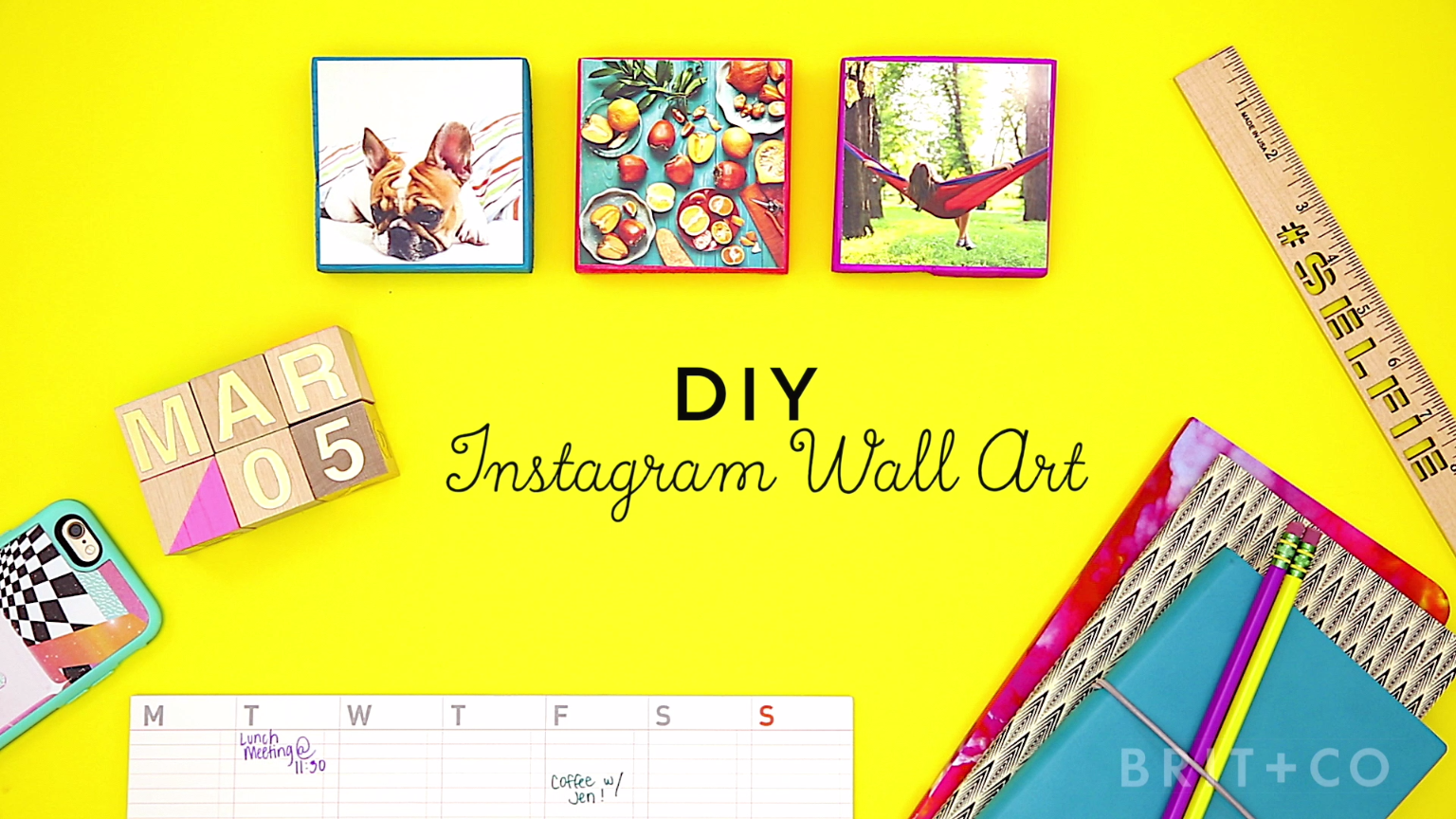 How to Make Instagram Wall Art | Learning, Tutorials and Easy
