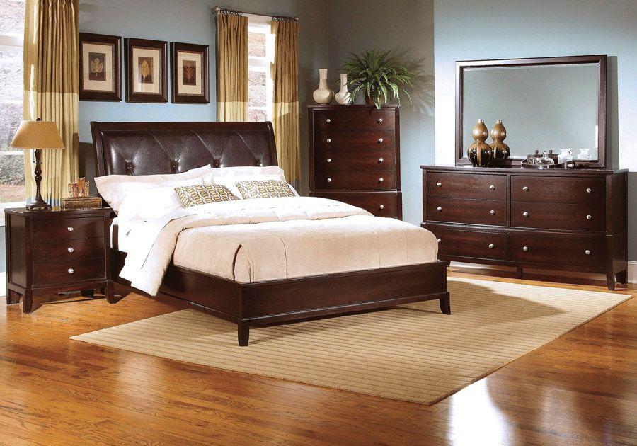 Jackson Espresso 5 Pc King Bedroom Bedroom Furniture Sets