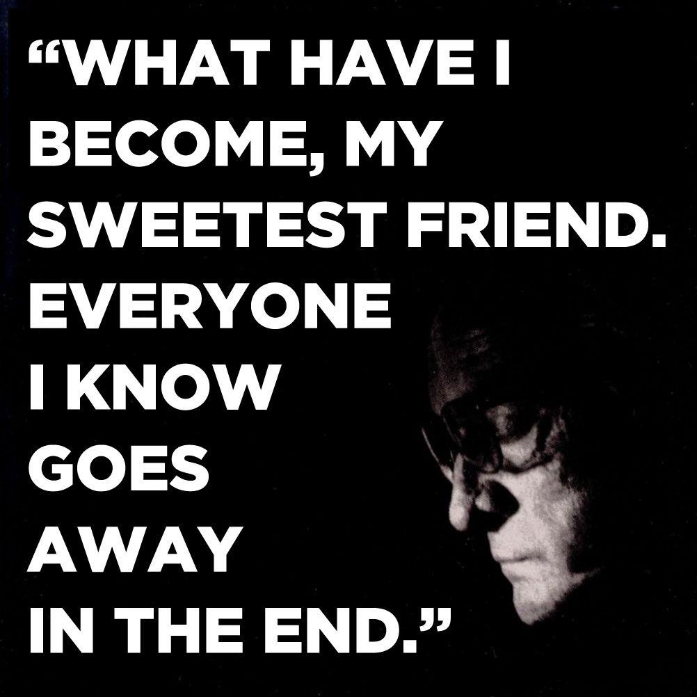 Johnny Cash Hurt Lyrics