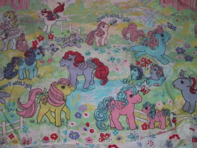 this was my my little pony Bed Tents for Twin bed back in the 80s ...
