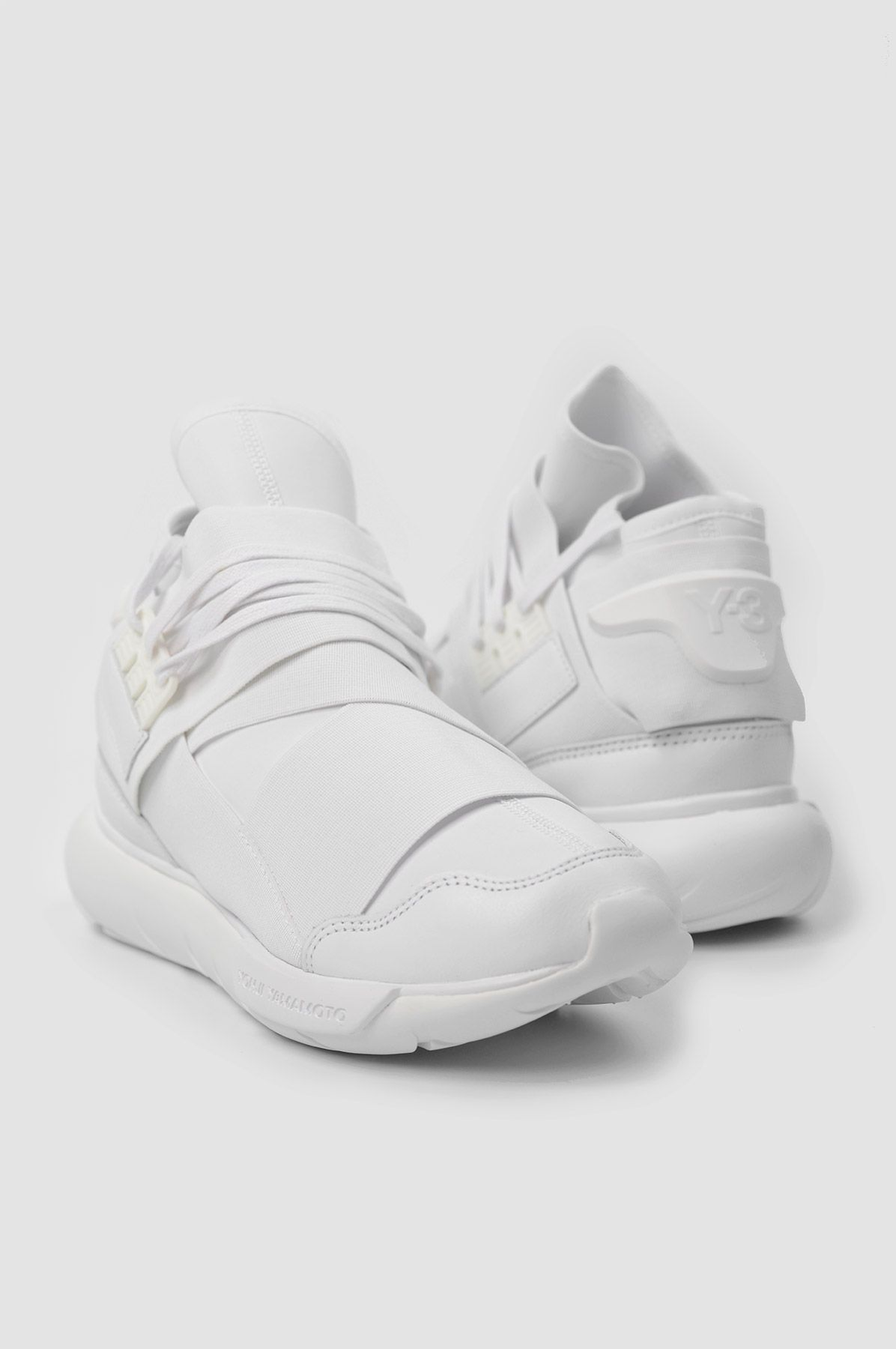 b1d7d46362593 SY-3 Qasa High White Sneakers. The SS16 Y-3 Qasa High takes the hi ...