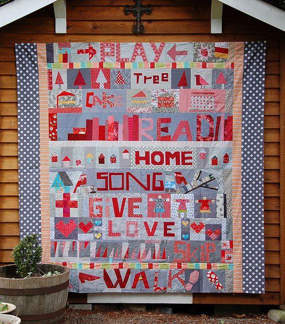 4 Letter Words Pieced Letter Quilts Pinterest Bees Alphabet