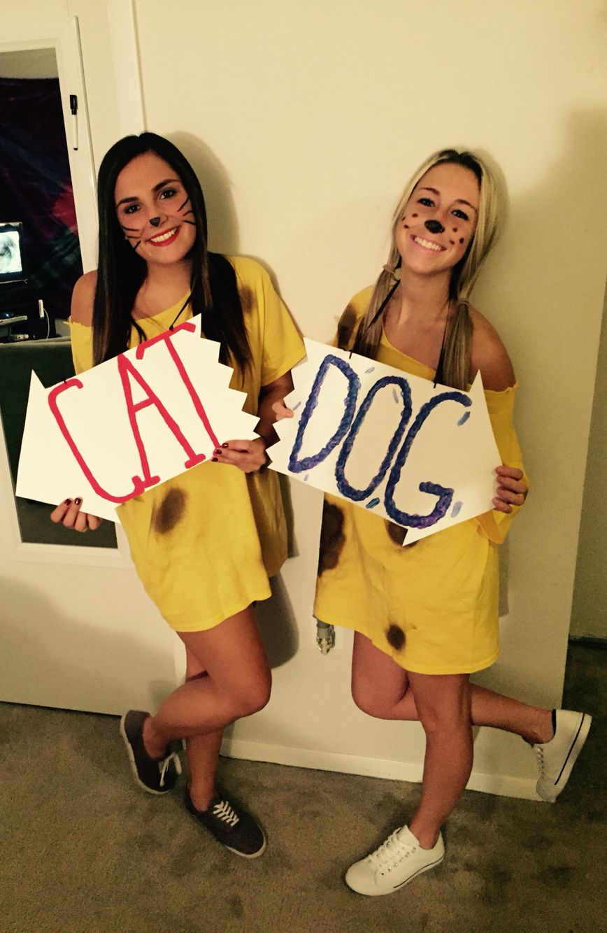 Halloween costume catdog