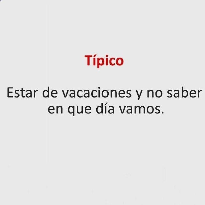 Y sin estar de Vacaciones !! #memes #chistes #chistesmalos #imagenesgraciosas #humor www.megamemeces.c... → → www.diverint.com/...