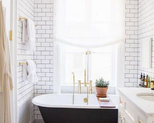 Ordinaire Modern And Vintage Designs In The Bathroom Tips