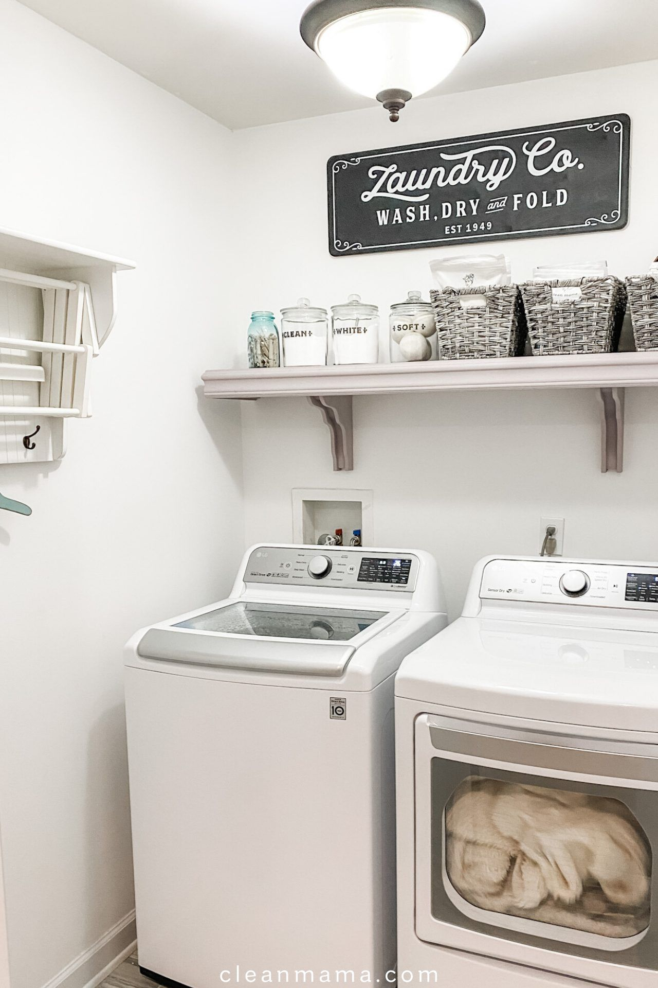 Pin On Clean Mama S All Time Favorite Pins Laundry room storage ideas