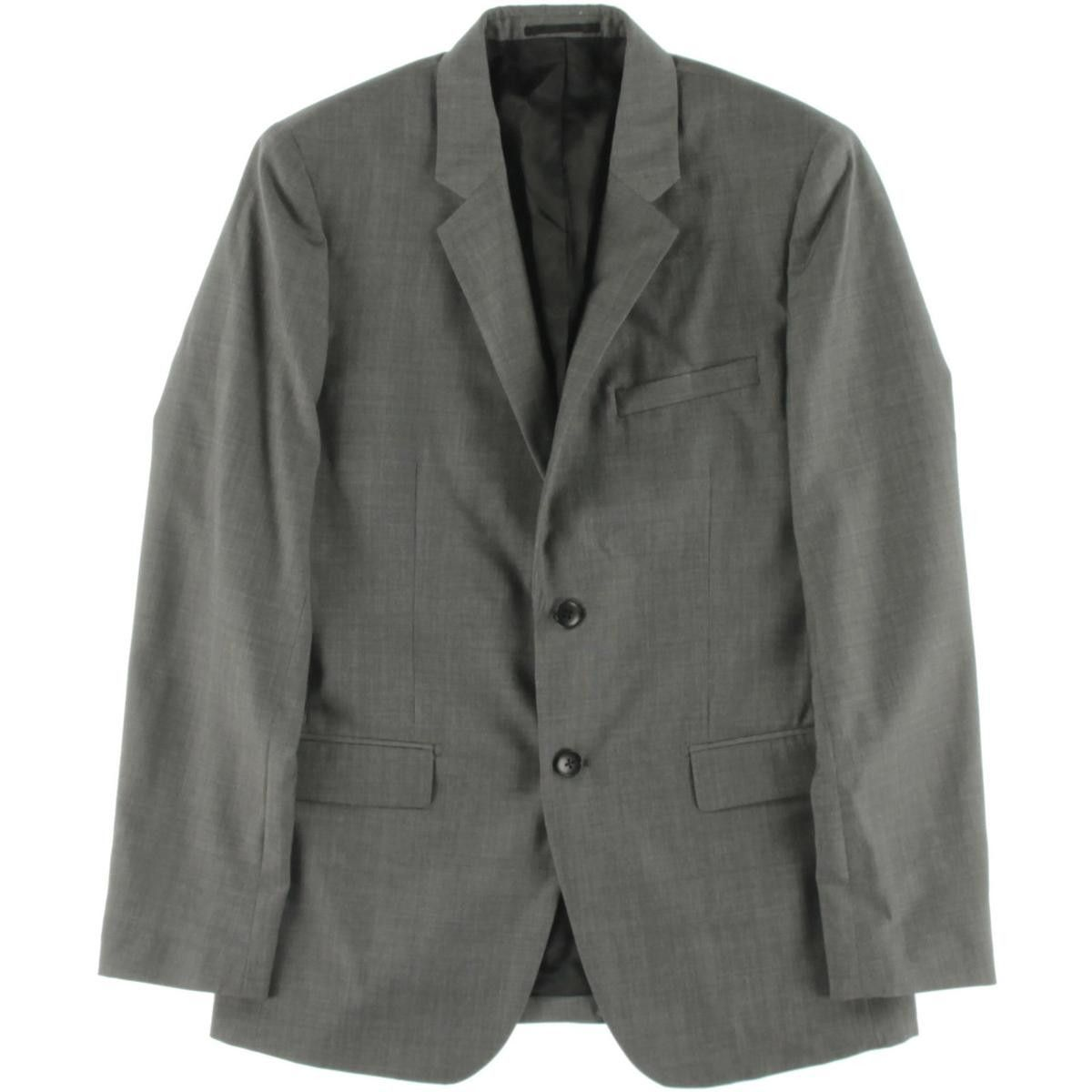 Theory Mens Xylo NP Wool Notch Lapel Two-Button Suit
