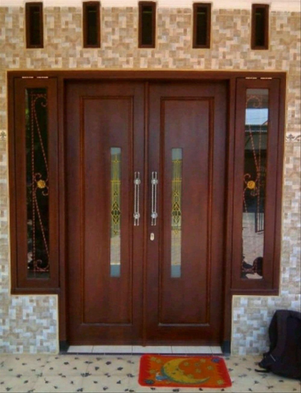 Desain Pintu Rumah Minimalis 2 Pintu 2015 Cek Bahan Bangunan Ukuran pintu kupu tarung minimalis