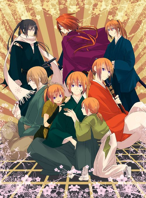 the different faces of kenshin rorouni kenshin rurouni kenshin
